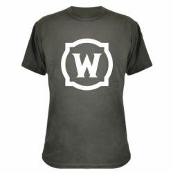 Камуфляжна футболка World of warcraft icon