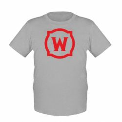 Дитяча футболка World of warcraft icon