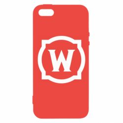 Чехол для iPhone5/5S/SE World of warcraft icon