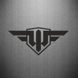 Наклейка World of Warplanes Logo