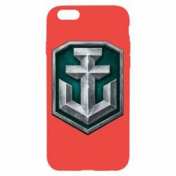 Чехол для iPhone 6/6S World of Warships Main Logo