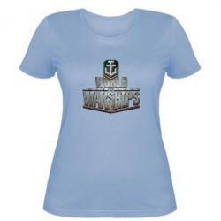 Женская футболка World of Warships - FatLine