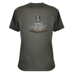 Камуфляжная футболка World of Warships - FatLine