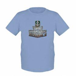Детская футболка World of Warships - FatLine