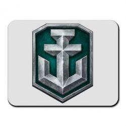 Коврик для мыши World of Warships Main Logo