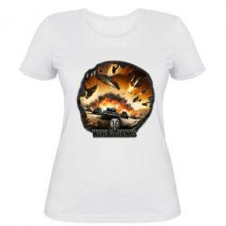 Женская футболка WoT Art