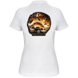 Женская футболка поло WoT Art