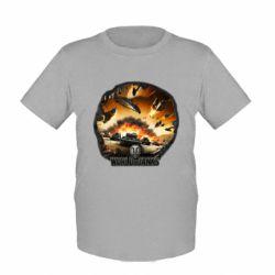 Детская футболка WoT Art - FatLine