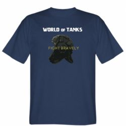 Мужская футболка WoT Fight bravely