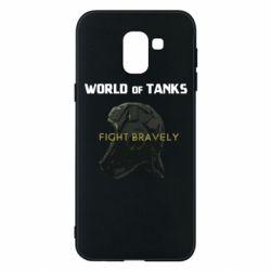 Чехол для Samsung J6 WoT Fight bravely
