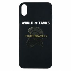 Чехол для iPhone Xs Max WoT Fight bravely