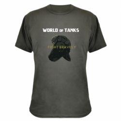 Камуфляжная футболка WoT Fight bravely