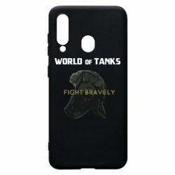 Чехол для Samsung A60 WoT Fight bravely
