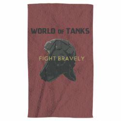 Полотенце WoT Fight bravely