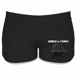 Женские шорты WoT Fight bravely
