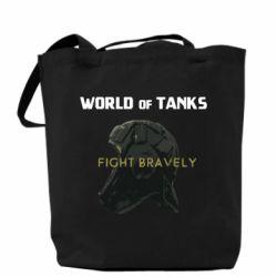 Сумка WoT Fight bravely
