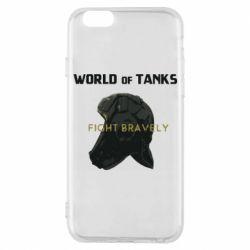Чехол для iPhone 6/6S WoT Fight bravely