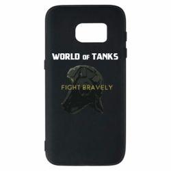 Чехол для Samsung S7 WoT Fight bravely