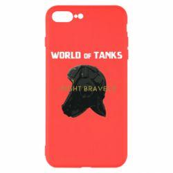Чехол для iPhone 8 Plus WoT Fight bravely