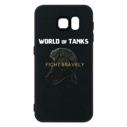 Чехол для Samsung S6 WoT Fight bravely
