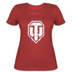 Женская футболка WOT Logo - FatLine