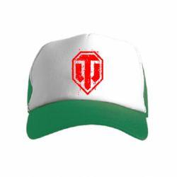 Детская кепка-тракер WOT Logo