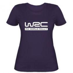 Женская футболка WRC