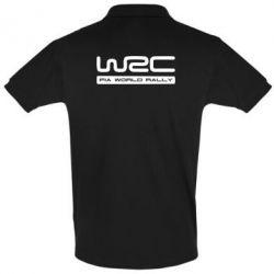 Мужская футболка поло WRC