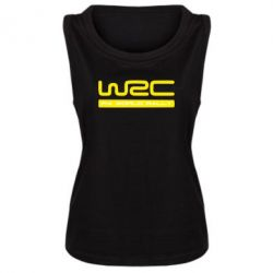 Женская майка WRC - FatLine