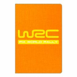 Блокнот А5 WRC - FatLine
