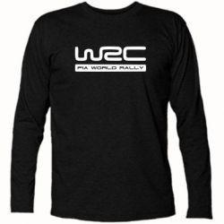 Футболка с длинным рукавом WRC