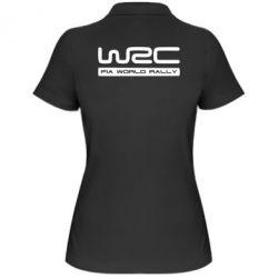 Женская футболка поло WRC
