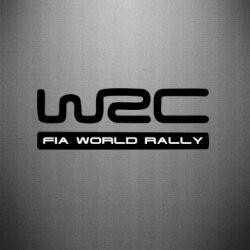 Наклейка WRC