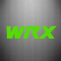 Наклейка WRX - FatLine