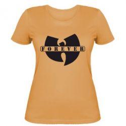 Женская футболка Wu-Tang forever - FatLine