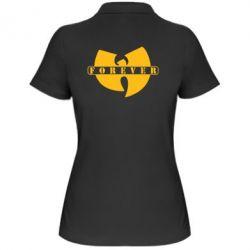 Женская футболка поло Wu-Tang forever - FatLine
