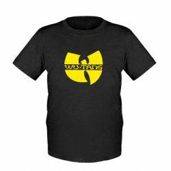 Детская футболка WU-TANG - FatLine