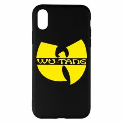 Чехол для iPhone X/Xs WU-TANG
