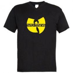 Чоловічі футболки з V-подібним вирізом WU-TANG - FatLine