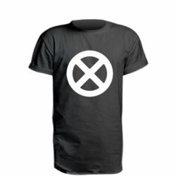 Подовжена футболка X-man logo