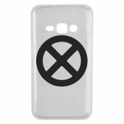 Чохол для Samsung J1 2016 X-man logo