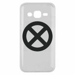 Чохол для Samsung J2 2015 X-man logo