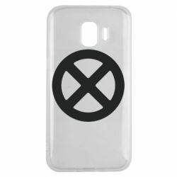 Чохол для Samsung J2 2018 X-man logo
