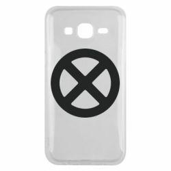 Чохол для Samsung J5 2015 X-man logo