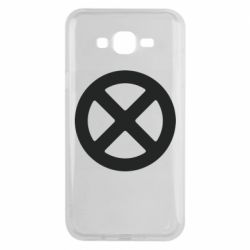 Чохол для Samsung J7 2015 X-man logo