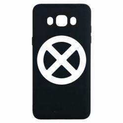 Чохол для Samsung J7 2016 X-man logo