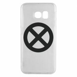 Чохол для Samsung S6 EDGE X-man logo