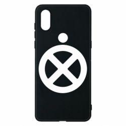 Чехол для Xiaomi Mi Mix 3 X-man logo