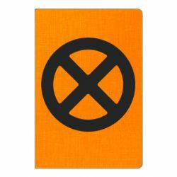 Блокнот А5 X-man logo