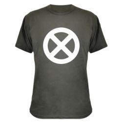 Камуфляжна футболка X-man logo